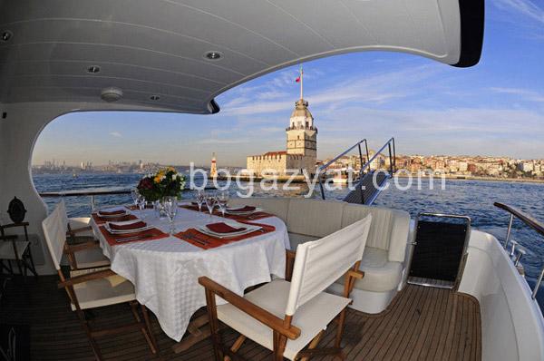 Boğazda Kiralık Tekneler İstanbul
